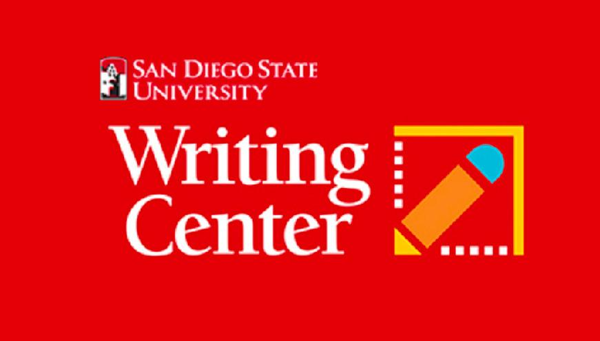 SDSU's Writing Center's homepage