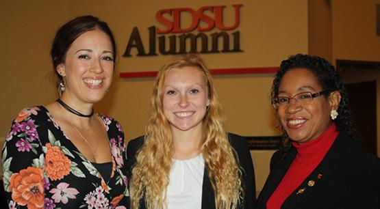 Transfer student Lorise Diamond awarded SDSU Alumni Scholarship